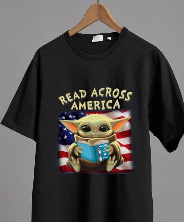 Great Star Wars Baby Yoda Read Across America shirt