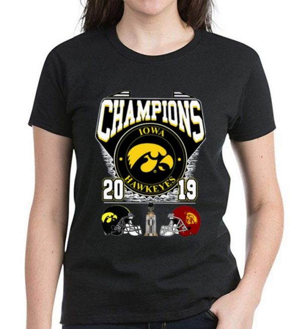 Original Lowa Hawkeyes Holiday Bowl Champions 2019 shirt