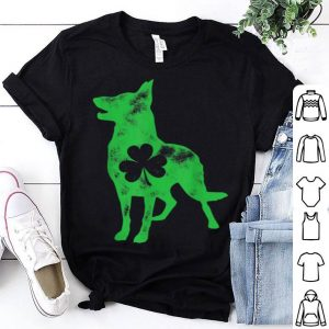 Awesome German Shepherd St Patricks Day Boys Men Dog Shamrock Gift shirt