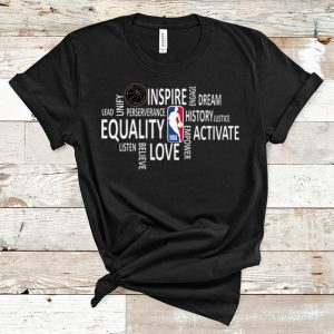 Awesome NBA Black History Month 2020 Equality Dream Love shirt