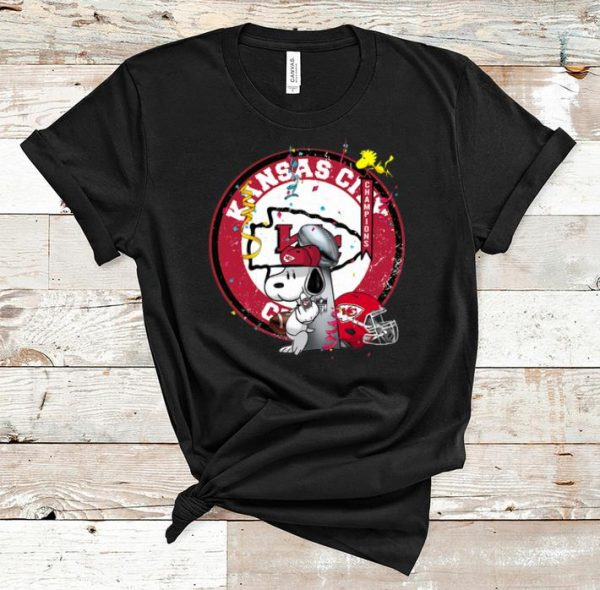 Awesome Soppy Kansas City Chiefs Super Bowl Champions shirt