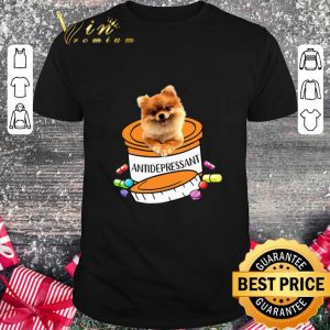 Funny Pomeranian dog Antidepressant Pills shirt