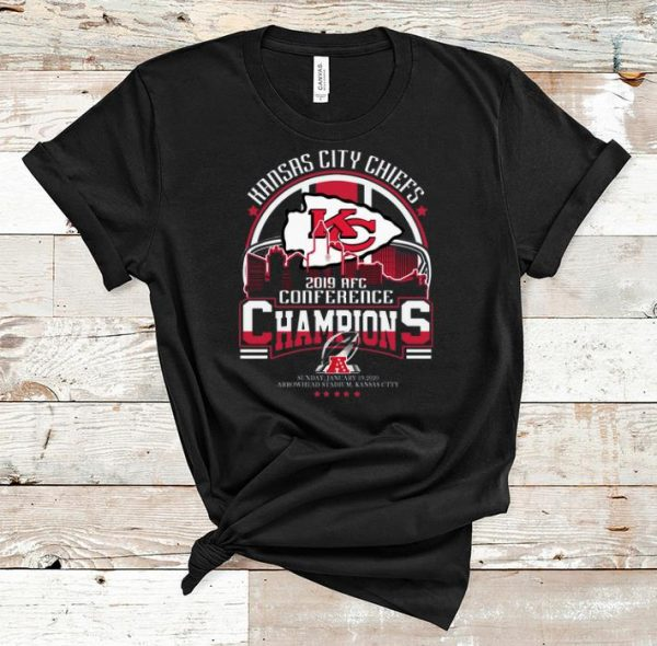 Great Kansas city Chiefs 2019 AFc Conference Champions shirt