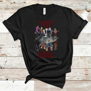 Great Rick And Morty reflection water mirror Stranger Things shirt