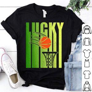 Great Vintage Funny Lucky Irish Basketball St Patricks Day Gift shirt