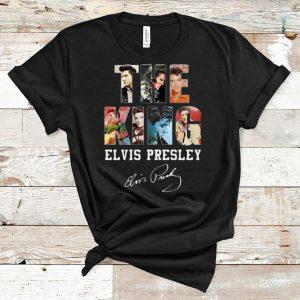 Nice The King Elvis Presley Signature Legend Never Die shirt