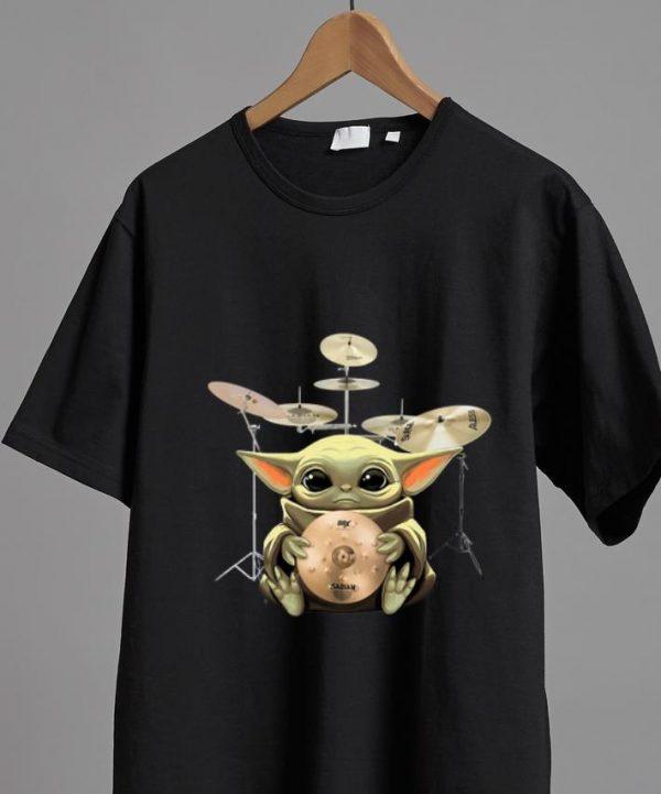 Premium Baby Yoda Hug Drum shirt
