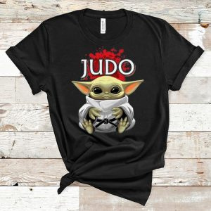 Pretty Star Wars Baby Yoda Judo shirt