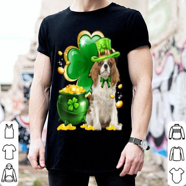 Nice Cavalier King Charles Spaniel St Patricks Day Dog Irish Gift shirt