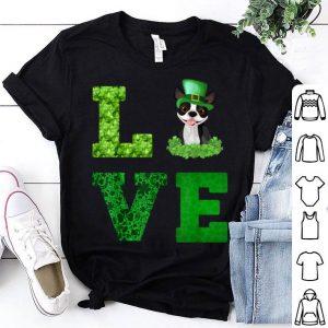 Original Love Boston Terrier St Patricks Day Leprechaun shirt