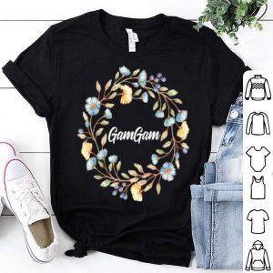 Pretty Gam Gam Cool Grandma Mother's Day Women's Gift shirt