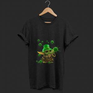 Top Baby Yoda Coronavirus Patricks Day shirt