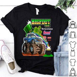 Top St. Patrick's Day Bigfoot shirt