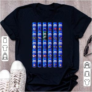 Great Bud Light NFL Team Logo shirt