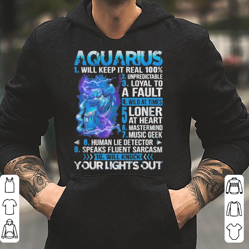 10 things about Aquarius shirt 4 - 10 things about Aquarius shirt