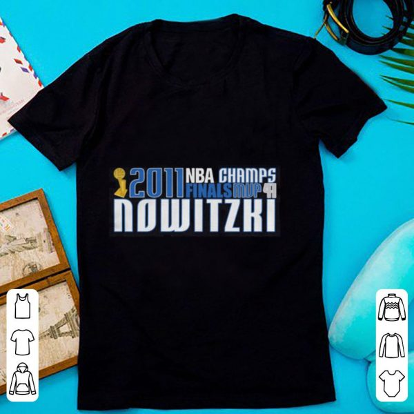 2011 Nba Champs Finals Mvp 41 Nowitzki shirt