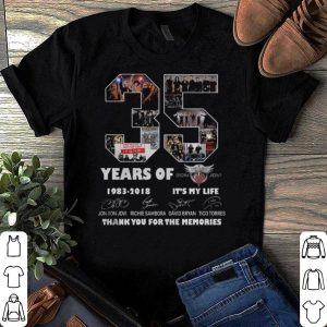 35 Years Of Bon Jovi – Thank You For The Memories shirt