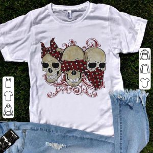 Blind Deaf Dumb skull shirt