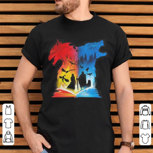 Book of Fire and Ice Game of Thrones shirt