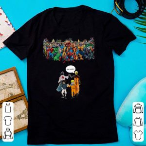 Naruto And Sasuke Avenger Endgame Marvel Superheroes shirt