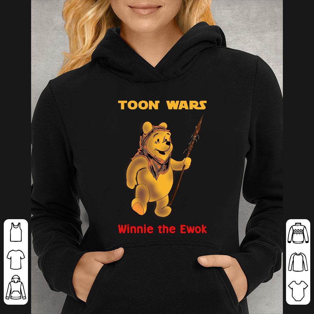 Pooh Bear Toon Wars Winnie The Ewok shirt 4 - Pooh Bear Toon Wars Winnie The Ewok shirt