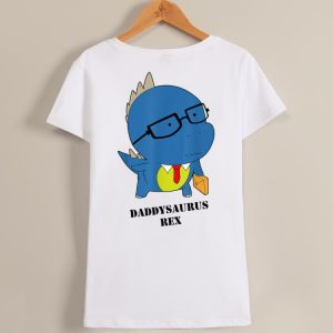 Cute Daddysaurus Rex Happy Father's Day shirt