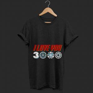 Daughter Tony Stark I Love You 3000 arc reactor Iron man shirt