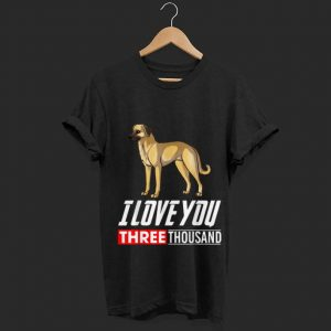 I Love You 3000 Anatolian Shepherd Dog shirt