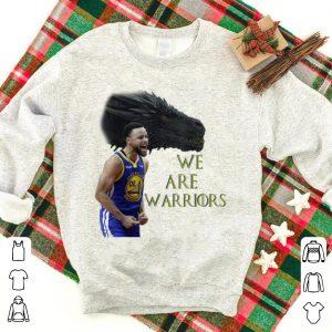 We Are Warriors Stephen Curry GOT Dragon shirt