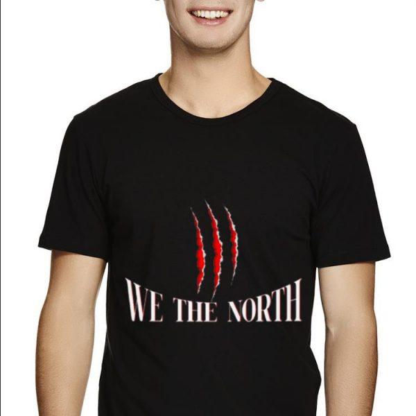 We The North Toronto Raptors Dinosaur Claws Basketball shirt
