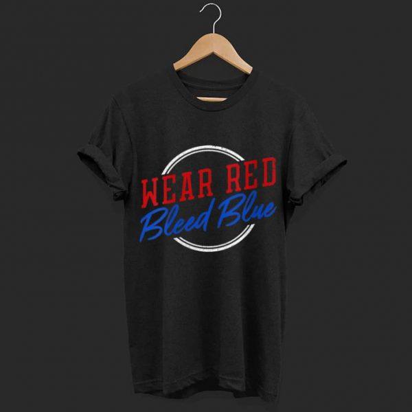 Wear Red Bleed Blue St. Louis Blues shirt