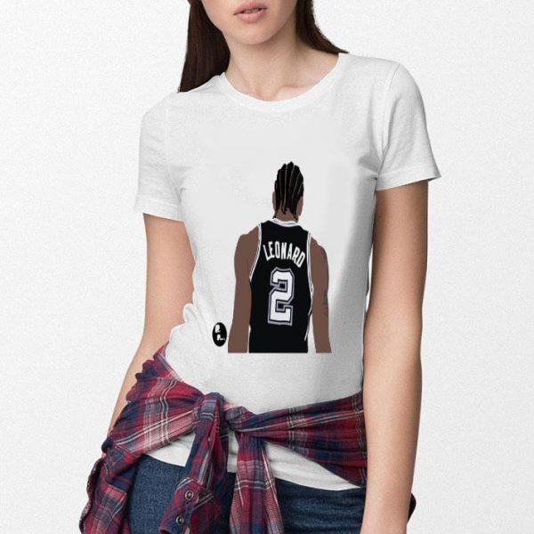 02KL Leonard Kawhi Toronto Raptors Shirt
