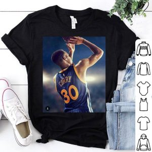 #30 Stephen Curry Golden State Warriors NBA Basketball Shirt