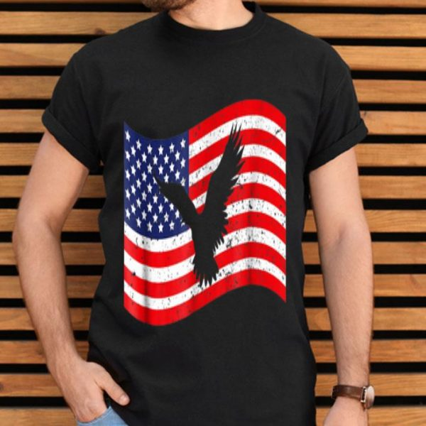 4th July With American Flag Eagle Shirt