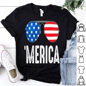 4th Of July Merica American Flag Pride Sunglasses shirt
