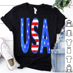 4th Of July USA Flag Red White And Blue shirt