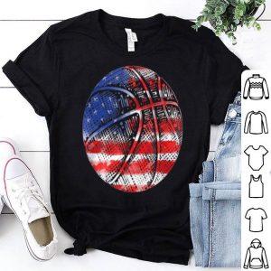 Basketball American Flag Usa Pride Sports Patriotic shirt