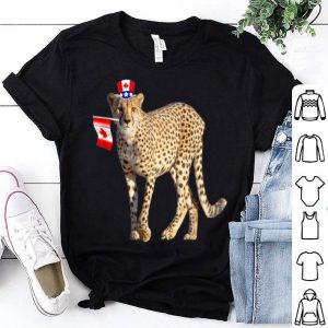 Canada - Maple Leaf Jaguar Canadian Flags Shirt