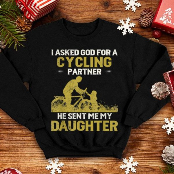 Dad and Daughter Cycling Partners Father day 2019 shirt