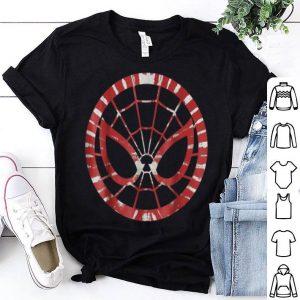 Marvel Spider Man Tie Dye Face Symbol Graphic Shirt