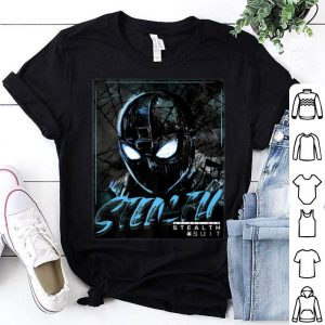 Marvel Spider-man Far From Home Stealth Suit Portrait Poster Premium Shirt