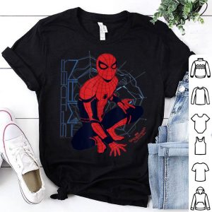 Marvel Spider-man Far From Home Webbed Outlook Graphic Shirt