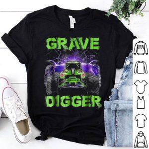 Monster Truck Grave Green Digger Racing shirt