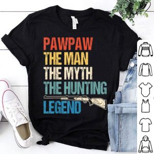 Pawpaw Man Myth Hunting Legend For Father Gift Shirt
