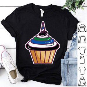 Pony Flag Pocket Cupcake Lgbtq Gay Rights Pride Week Premium Shirt