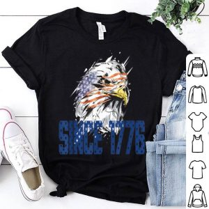 USA American Bald Eagle 4th of July Independence Day 1776 shirt