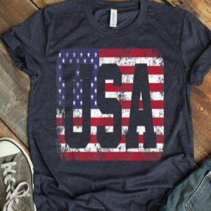 Usa Us Flag Tee Patriodic 4th Of July America shirt