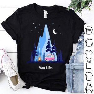 Vanlife Van Life Living Outdoors Campers shirt