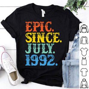 Vintage Epic Since July 1992 Birth Year Born Legendary Gifts Premium Shirt