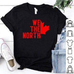 We The North Toronto Raptors Canada Maple leaf Shirt